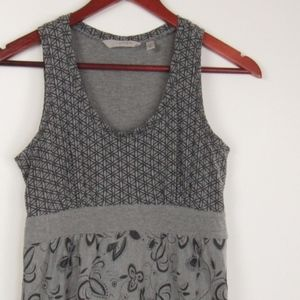 Athleta Charcoal and Black Pullover Dress XS